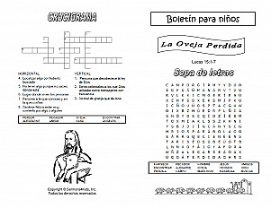 La Oveja Perdida Group Activities Sermons4kids
