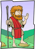 John The Baptist And Jesus For Kids A Messenger Sent from ...