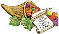 Thanksgiving Top Ten List