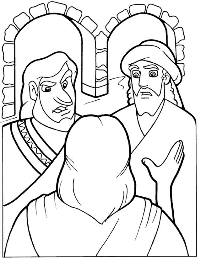 Religión superficial - Página para colorear