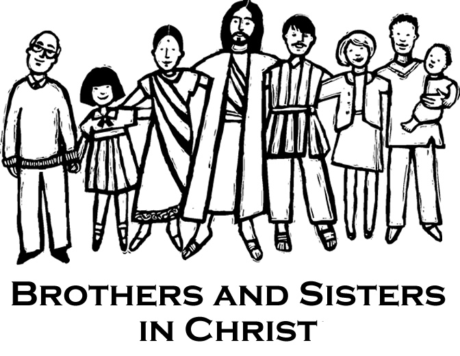 The Family Of God Coloring Page