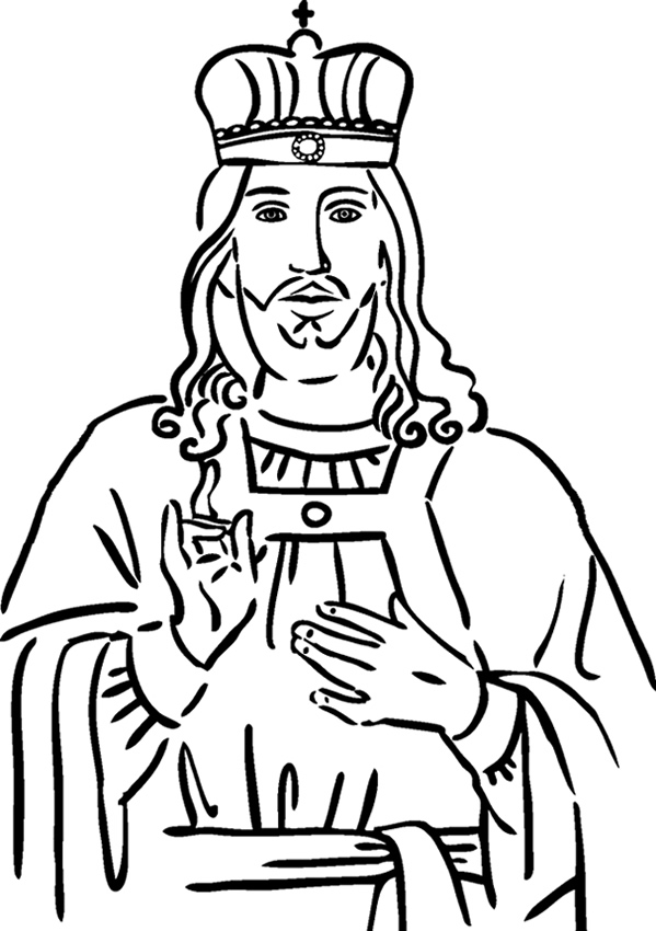 free king jesus coloring pages - photo#17