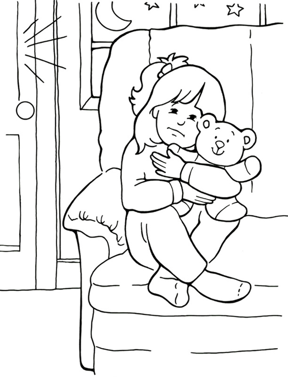 scared coloring pages - photo#2