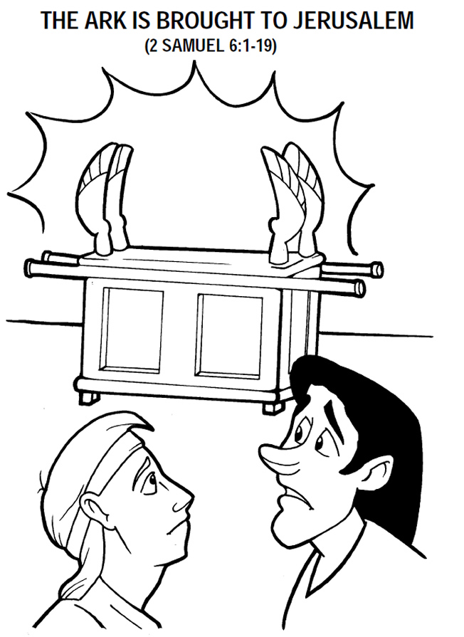 ark of the covenant coloring page  Coloring Pages